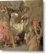 The Entombment Of Christ Metal Print by Barocci