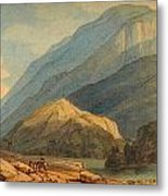The Entrance Into Borrowdale Metal Print