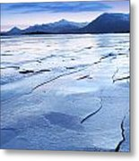 The Entrance To The East Fjords Iceland Metal Print