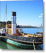 The Eppleton Hall Paddlewheel Tugboat - 1914 Metal Print