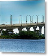 The Ernest F. Lyons Replacement Bridge Metal Print