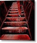 The Escalator Metal Print