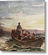 The Escape Of Mary Queen Of Scots Metal Print