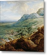 The Escorial, From A Foothill Metal Print