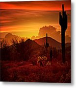 The Essence Of The Southwest Metal Print