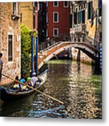 The Essence Of Venice Metal Print