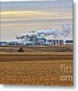 The Ethanol Plant Metal Print
