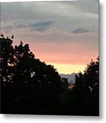 The Evening Sky Metal Print