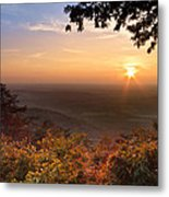 The Evening Star Metal Print by Debra and Dave Vanderlaan