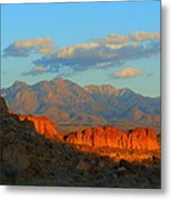 The Ever Changing Beauty Of Monolith Gardens Metal Print