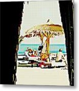 The Expats Metal Print by Peter Waters