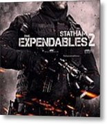 The Expendables 2 Statham Metal Print