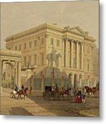 The Exterior Of Apsley House, 1853 Metal Print