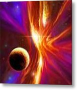 The Eye Of God Metal Print