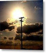 The Eye Of The Evening Sun Metal Print