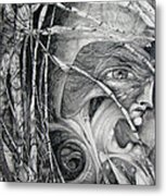 The Eye Of The Fomorii - Regrouping For The Battle Metal Print