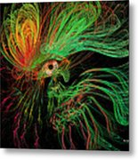 The Eye Of The Medusa Metal Print