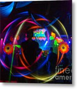 The Eye Of The Rave Metal Print