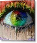 The Eyes 15 Metal Print