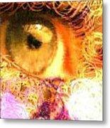 The Eyes 4 Metal Print