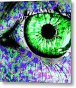 The Eyes 8 Metal Print