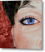 The Eyes Have It - Nicole Metal Print