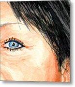 The Eyes Have It - Tami Metal Print