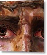 The Eyes Of Eternal Love Metal Print