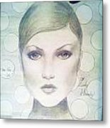 The Face Of 66' Metal Print by Megan Jenkins