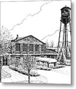 The Factory In Franklin Tennessee Metal Print