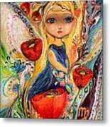 The Fairies Of Zodiac Series - Virgo Metal Print