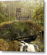 The Fairy Castle Metal Print