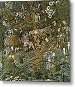 The Fairy Feller Master Stroke Metal Print by Richard Dadd
