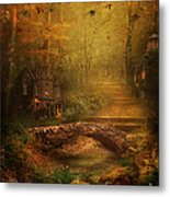 The Fairy Forest In The Fall Metal Print