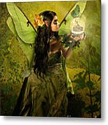 The Fairy Of Clairvoyant Metal Print