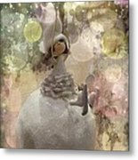 The Fairy Of Winter Lights Metal Print