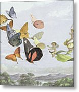 The Fairy Queen's Carriage Metal Print