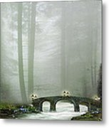 The Fairy Village Metal Print