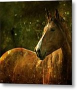 The Fairytale Horse Metal Print