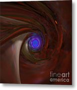 The Falcon's Eye   Ultra Violet Vision Metal Print