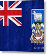 The Falkland Islands Flag Metal Print