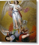 The Fall Of Lucifer Metal Print