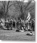 The Fallen Civil War Metal Print