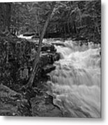 The Falls Metal Print by David Rucker