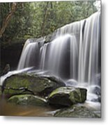 The Falls Metal Print by Steve Caldwell