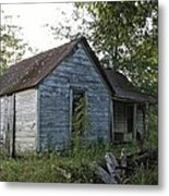 The Farm House Metal Print