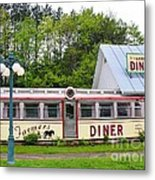 The Farmers Diner In Color Metal Print
