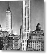 The Farmers Trust Building  Metal Print