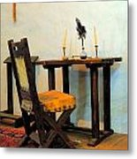 The Father's Desk Metal Print