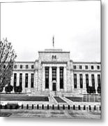 The Federal Reserve  Metal Print by Olivier Le Queinec
